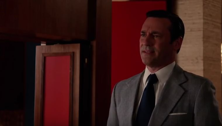 don draper looking stunned