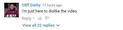 ghostbusters youtube comment