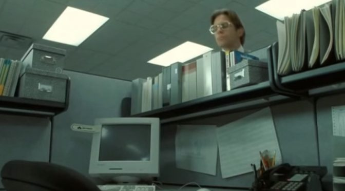 Neo Hides from Lumbergh - Matrix Office Space Mashup