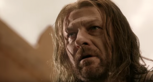 Ned's last moments in Game of Thrones